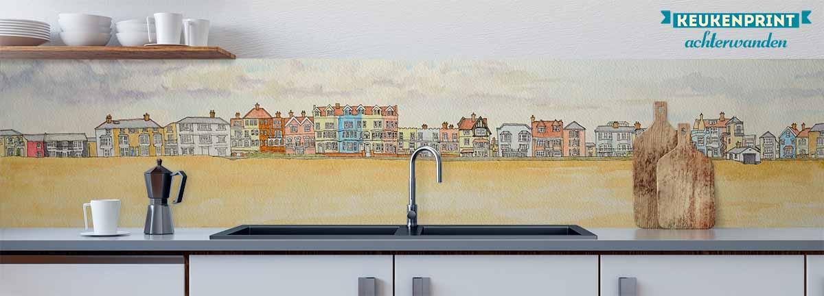 Aldeburgh_zeezicht_Keukenprint