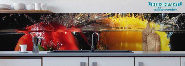 paprika-plons-keukenprint