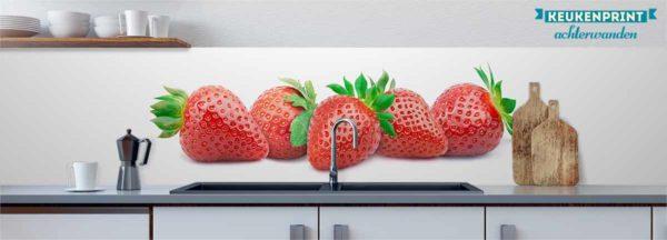 aardbeien_Keukenprint
