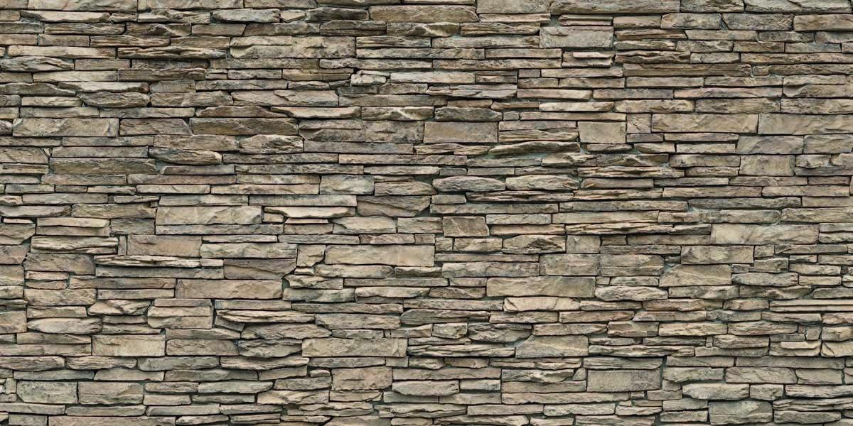 beige-stone-wall-keukenprint-volledig
