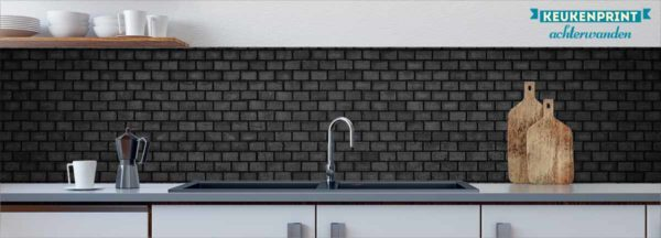 blackwall-keukenprint