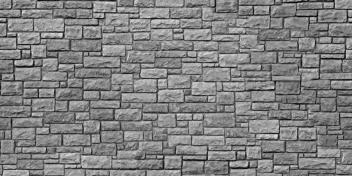 grey-stone-wall-keukenprint-volledig