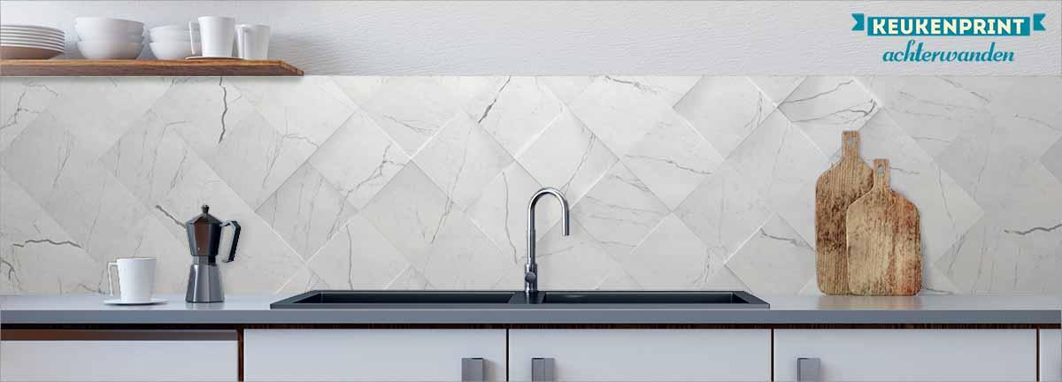 marmer-tegel-wit-keukenprint