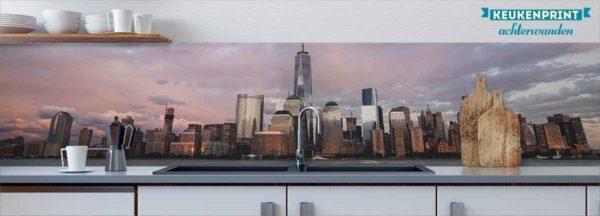new_york_Keukenprint
