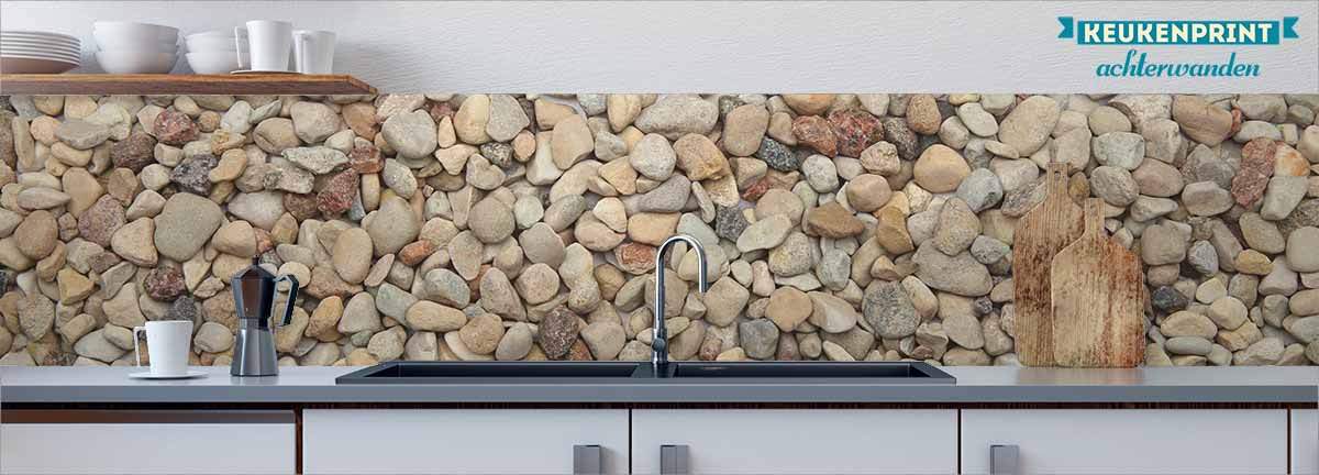 pebbles-keukenprint