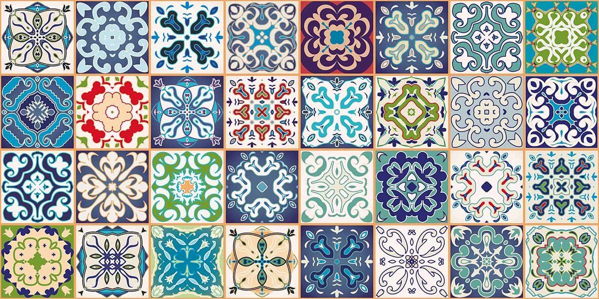 portugese-tegeltjes-grafisch-kleur-keukenprint-volledig