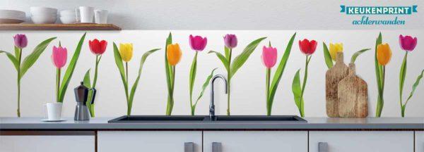 tulpen_op_wit_Keukenprint