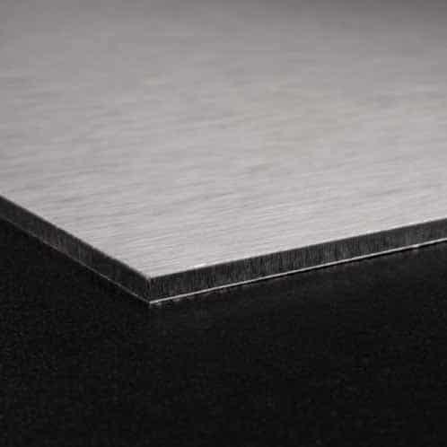 Keukenprint geborsteld aluminium 5