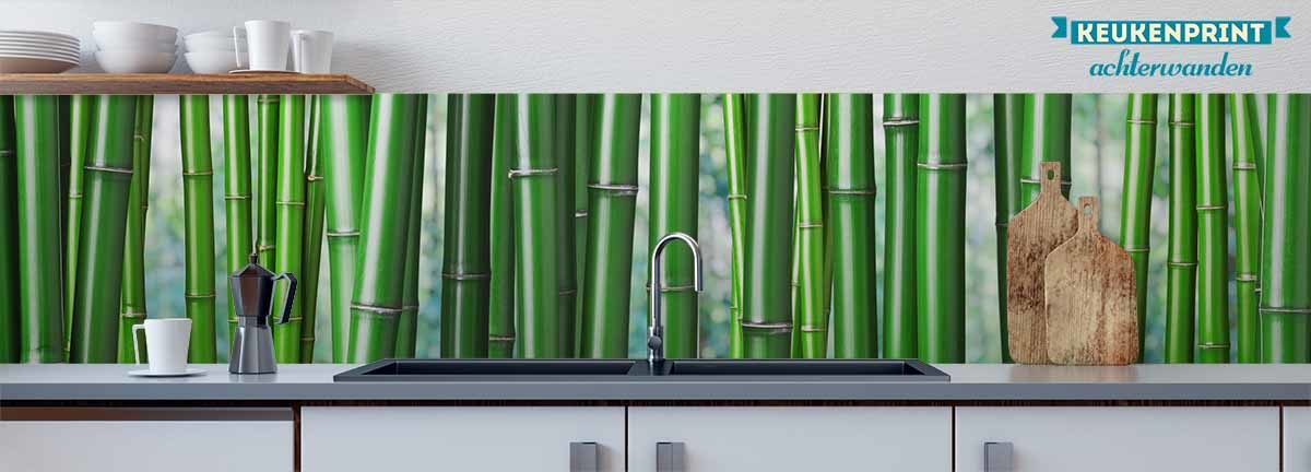 bamboo-nature-keukenprint