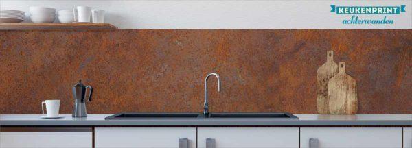 bruine-roest-keukenprint