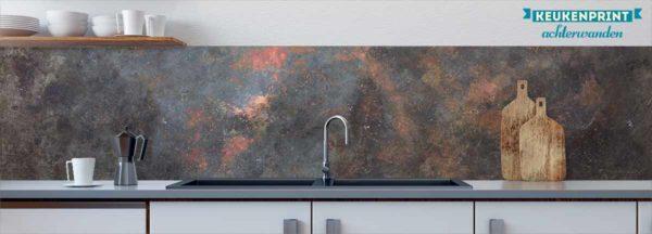 galaxie-roest-keukenprint